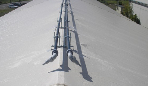 屋根散水装置