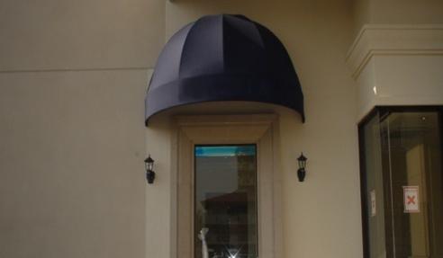 店舗入り口デザインテント