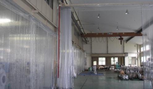移動式間仕切りカーテン