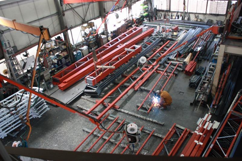 第一工場の工場内の様子