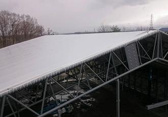 垂直積雪量に応じた屋根勾配